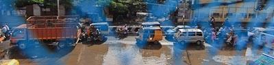Traffic in Chennai